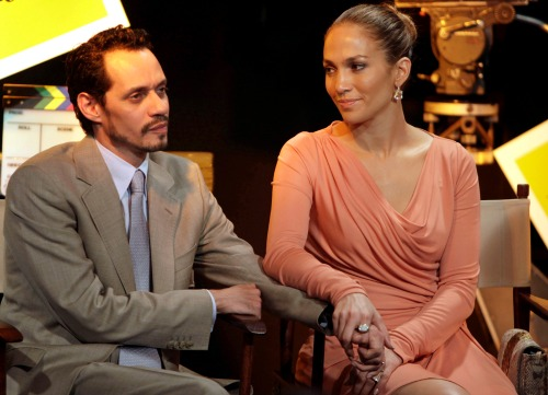 Marc y Jennifer Lopez