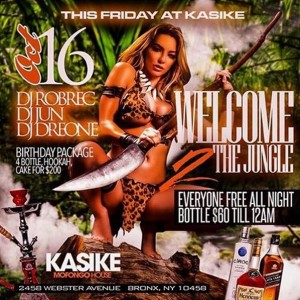 Kasike Friday Jungle Flyer