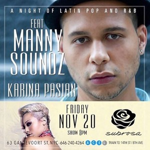 Nov 20 Manny soundz